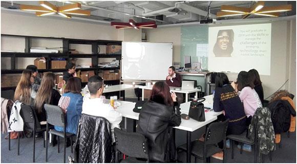 时尚管理在时尚圈--时尚管理与传媒国际预科Guest Lecture Week