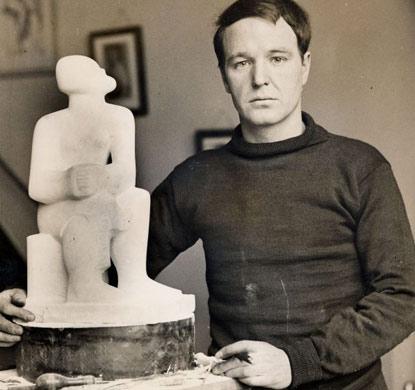 雕塑家:Henry Moore 亨利·摩尔
