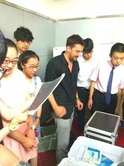 伦艺大咖助梦中国学生系列公益讲座 -哈尔滨第九中学