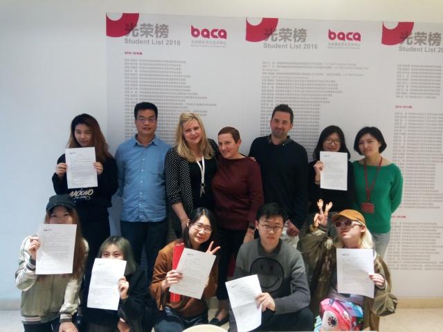 花开花谢硕果累累 BACA国际艺术课程中心学生提前被伦艺本科录取