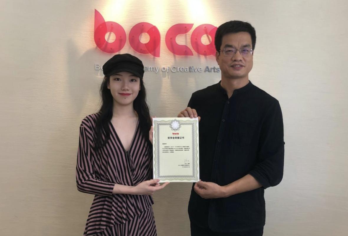2018年 BACA 一年制艺术设计预科毕业生杨慧——伦敦艺术大学中央圣马丁本科纯艺专业