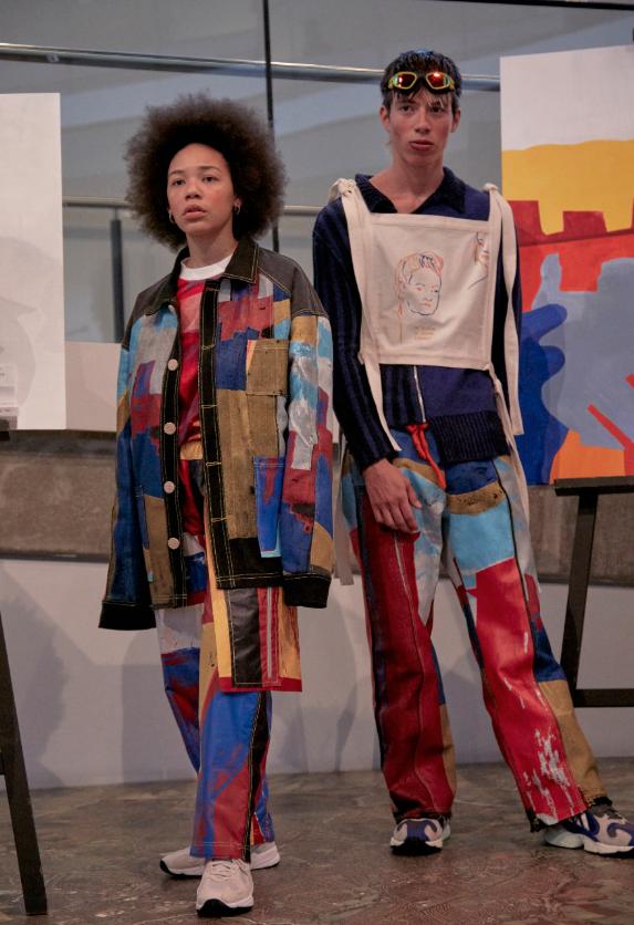 伦敦艺术大学校友贝瑟尼·威廉姆斯在伦敦时装周上荣获第二届QEII设计大奖