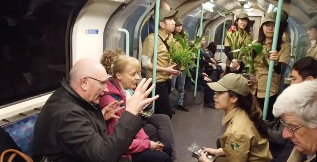 伦敦地铁出行